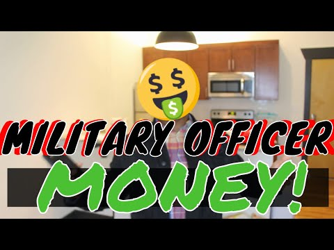 How Much Money Military Officers Make!