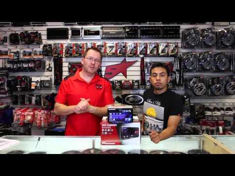 The unboxing of Pioneer's new AVH X4800BS multimedia radio