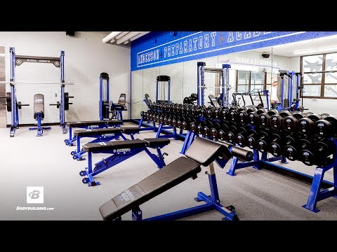 Crummy High School Gym Gets World Class Makeover | Anderson Prep Academy
