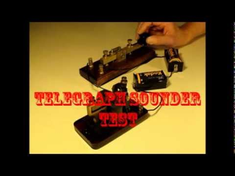 Signal Electric Telegraph Sounder