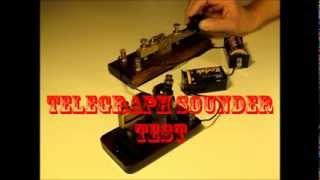 Signal Electric Telegraph Sounder