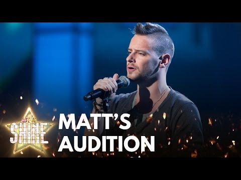 Matt Thorpe performs 'If I Ain't Got You' by Alicia Keys - Let It Shine - BBC One