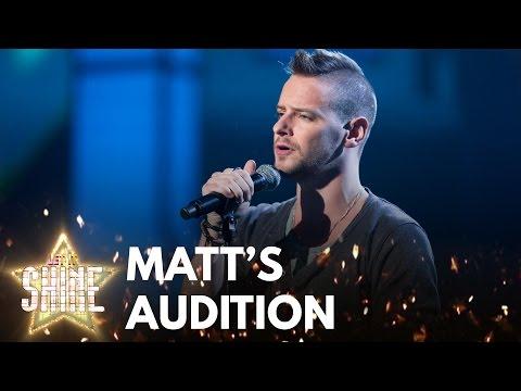 Matt Thorpe performs If I Aint Got You  Alicia Keys  Let It Shine  BBC e