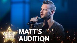 matt thorpe performs if i ain t got you by alicia keys let it shine bbc one