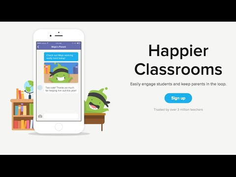 ClassDojo Tutorial 2015 Easy Classroom Management  YouTube