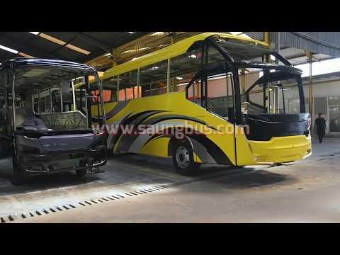 Proses Pembuatan Bus Pariwisata Karoseri Laksana