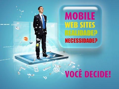 Site para celular, a tecnologia móvel como tela principal Mobile First