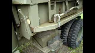 1942 chevrolet military g7117 winch with dump walkaround