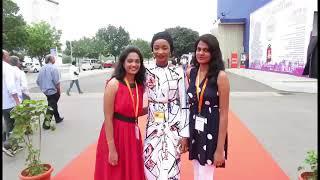 Rahama sadau in India 2017 with sharukhan
