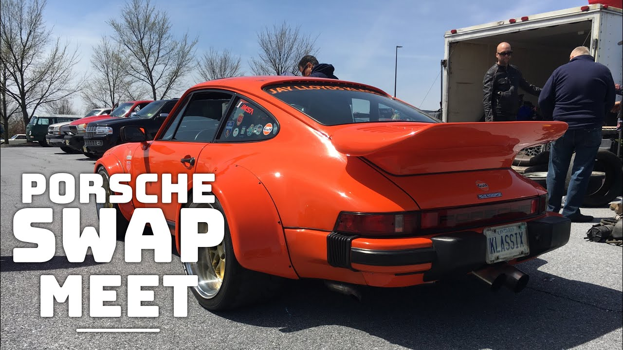 Porsche Swap Meet In Hershey PA YouTube - Antique car show hershey pa 2018