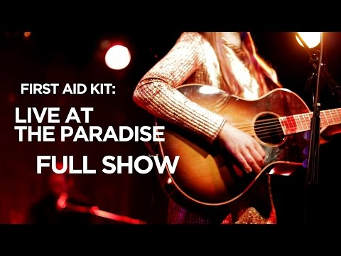 Front Row Boston | First Aid Kit: Live at The Paradise (Full Show)