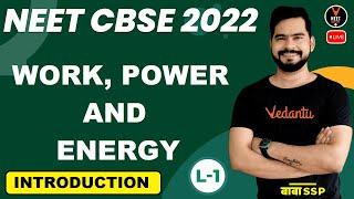 Work,Power,Energy Class 11 L1   Introduction   NEET 2022 Preparation   NEET Physics   Sachin Sir
