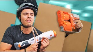 NERF Hide in a Box Challenge! [Ep. 2]