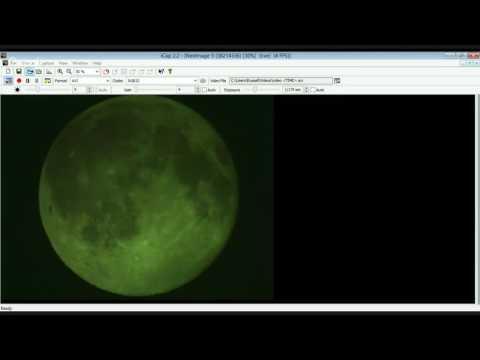 Live Moon from Nova Scotia