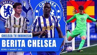 Chelsea Siap Bajak Dybala | Sarr Incar Posisi Di Squad Chelsea | Kepa DiCoret Dari Sequad Spanyol