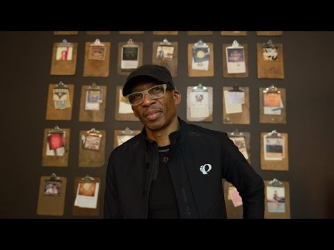 Hank Shocklee with Microphone Check