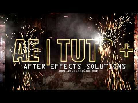 Adobe After effects Weld Spark effect