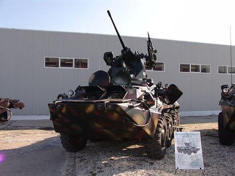 BTR-80 Vs. Stryker [HD]-2014