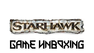 Game Unboxing - Starhawk - Limited Edition
