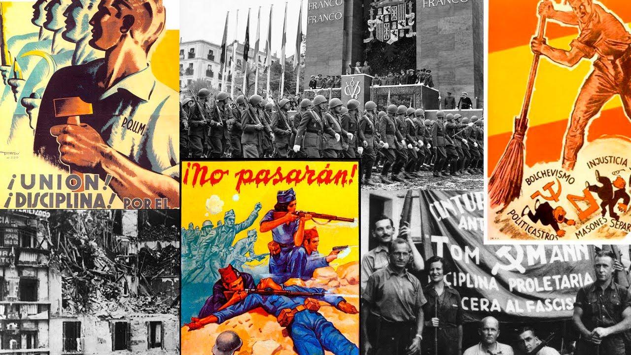 Обложка видеозаписи Гражданская война в Испании