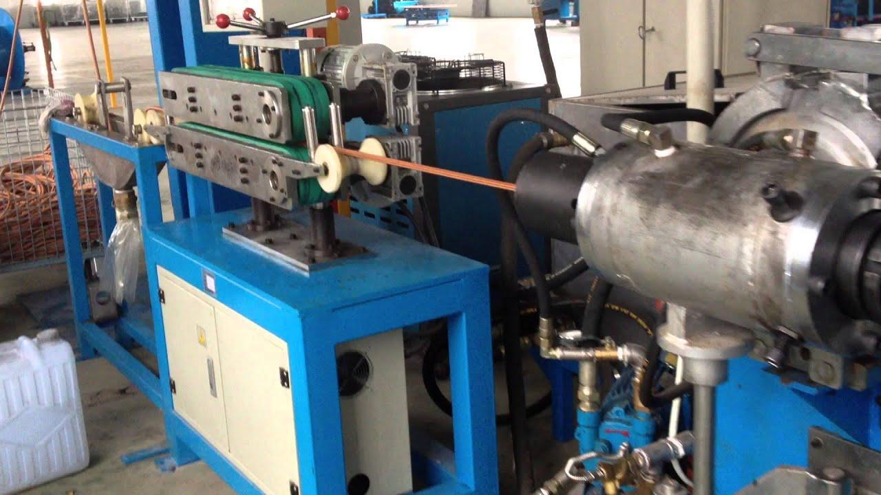 High Pressure Extruder : High pressure a c hose production line rubber braiding