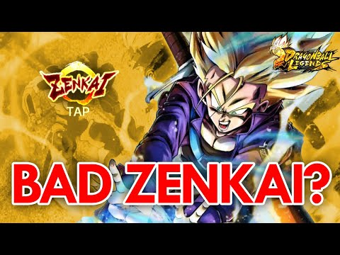 NEW ZENKAI TRUNKS IS ALREADY BAD? | Dragon Ball Legends 2nd Anniversary