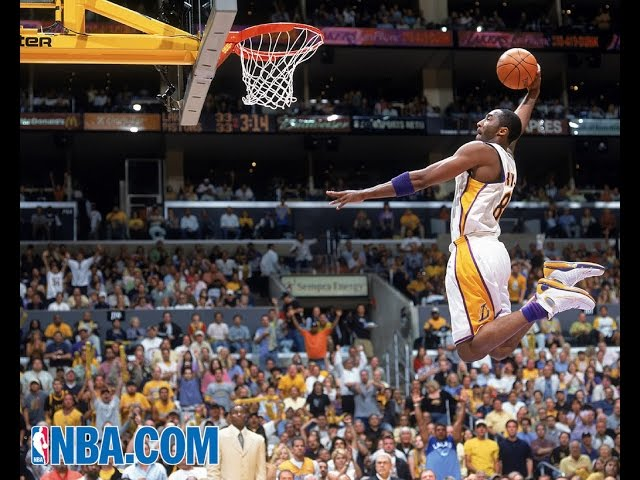 c2e887bae4b1 The Mamba in flight  A Kobe Bryant Dunk History retrospective