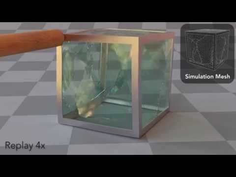 Adaptive Tearing and Cracking of Thin Sheets, SIGGRAPH 2014