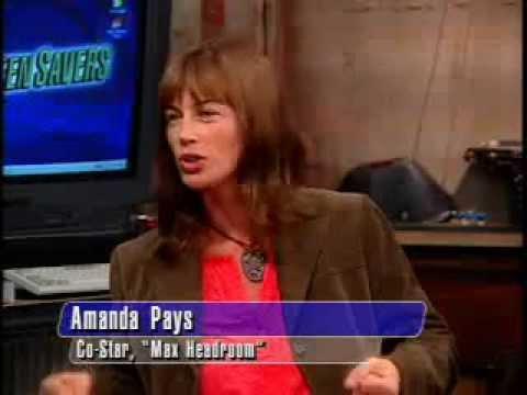 Amanda Pays From Max Headroom 2002 TechTV