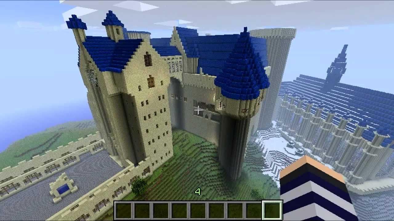 Minecraft - Hogwarts Castle Tour - YouTube