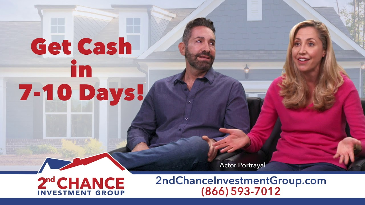 2nd Chance Investment Group makes selling your house in California easy