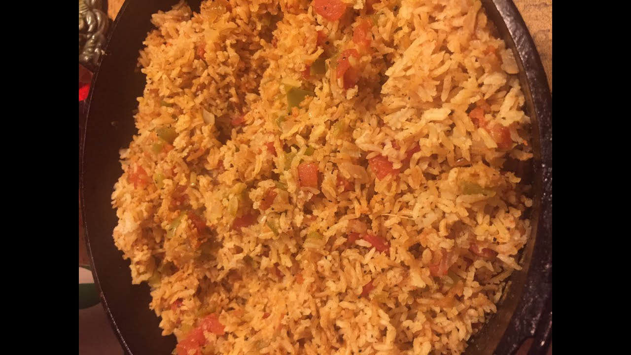 How To Make Mexican Rice Cooked In A Dutch Oven Texas Style Cuisine