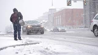 Hello, spring! Nor'easter brings snow to Pennsylvania