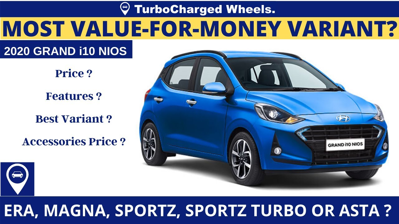 2020 Hyundai Grand i10 Nios Price & Features | Most Value For Money Variant