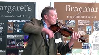 Beautiful Scottish fiddle from Paul Anderson for 'friends of St Margarets' in Braemar April 2019