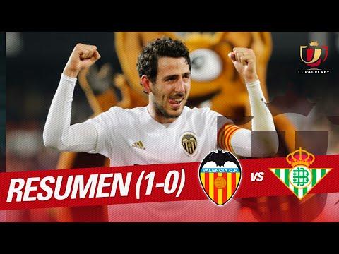 Resumen de Valencia CF vs Real Betis (1-0)