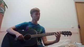 Собственная мелодия на гитаре. Дубль 2