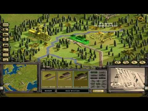 Railroad Tycoon 2 Platinum - 12 - Classic Campaign: When Walls Come Down