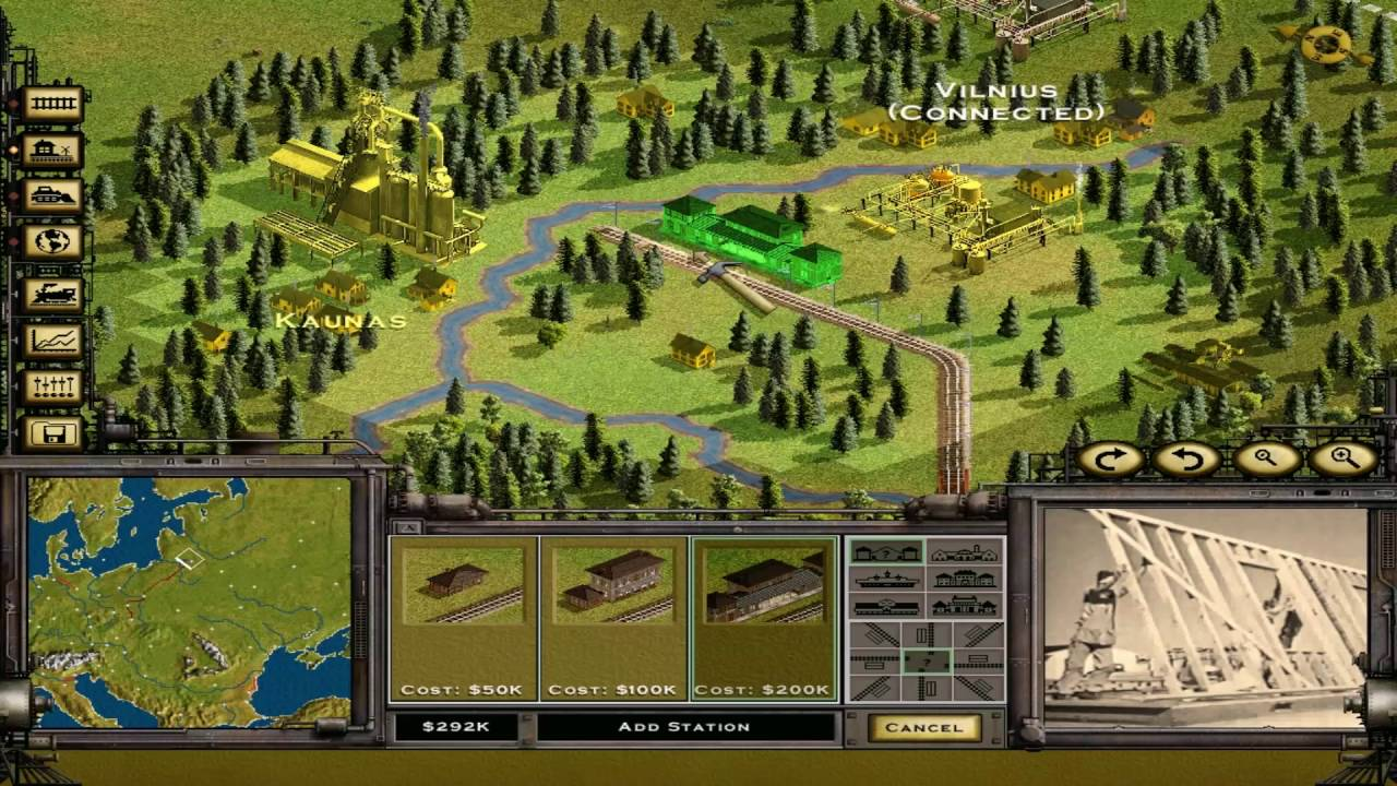 Map Of Usa Test Game%0A Railroad Tycoon   Platinum      Classic Campaign  When Walls Come Down   Game Destroyer