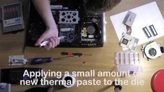 Alienware M17X Overheating Fix & Hard Drive/Memory Replacement
