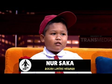 Nur Saka, Bocah Viral Lintasi Batas Negara Demi Sekolah   HITAM PUTIH (19/09/18) 1-4
