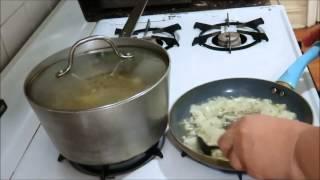 Egyptian Green Lentil Soup  Суп из Зелёной Чечевицы По Египетски