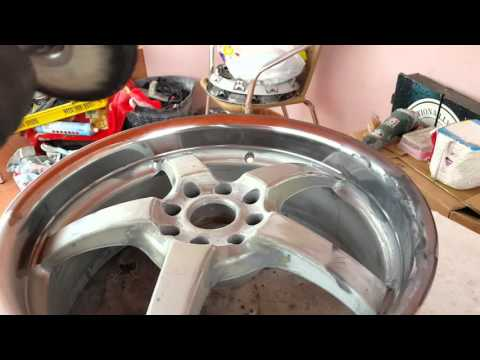 How to Polish your alloy wheels