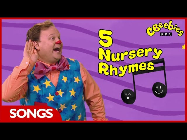 CBeebies   Mr Tumble's Nursery Rhymes   Join In!