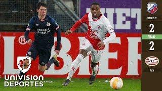 Vibrante empate que consiguió PSV Eindhoven ante Utrecht