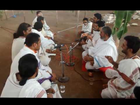 Recitation of Rigveda Samhita In 'Ghana' Form