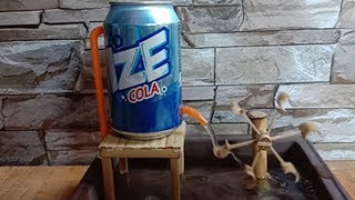 How to make free energy constant Waterwheel - Does it work