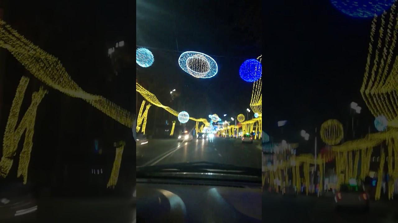 Ночной Тбилиси 2020.Night Tbilisi 2020