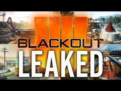 *HUGE* BLACK OPS 4 BLACKOUT LEAK: MAP SIZE, HEALTH, GUNS, LOOT & MORE (Call of Duty Battle Royale)