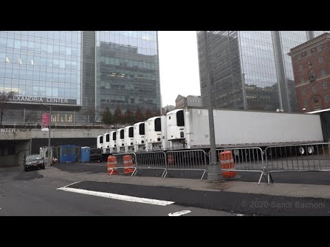 #CoronaVirus DAY28: Sirens and Refrigerated Trucks At NYC Hospitals 3/29/20